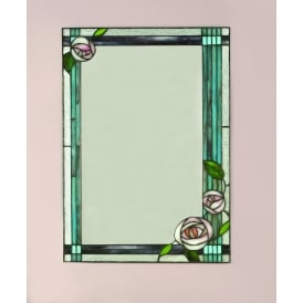 Willow Decorative Large Wall Mirror with Classic Tiffany Design