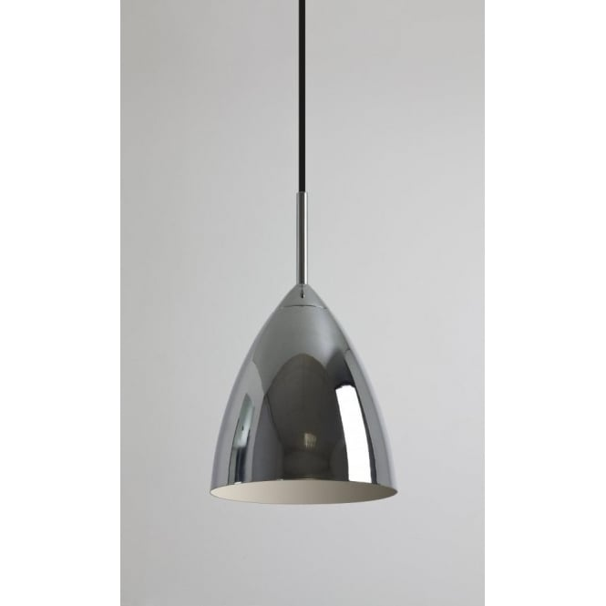 Astro Lighting Joel Single Light Ceiling Pendant in Polished Chrome Finish
