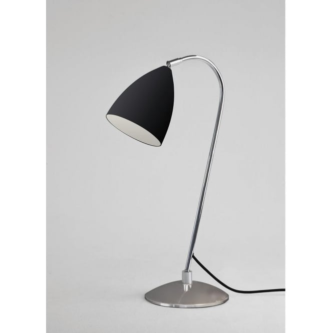 Astro Lighting Joel Single Light Table Lamp In Black And Polished Chrome Finish