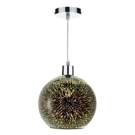 Kai Easy Fit Ceiling Pendant Shade Only In Glass