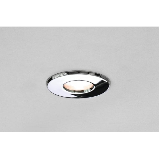 Astro Lighting Kamo LED Single Light Recessed Bathroom Ceiling Fitting In Polished Chrome Finish
