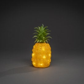 6277-103 Illuminated Pineapple with Warm White LED
