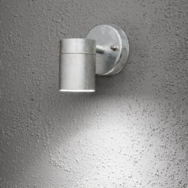 7572-320 Modena Single Light Galvanised Outdoor Wall Light