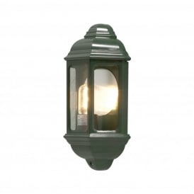 Cagliari Single Light Outdoor Wall Fitting in Green Finish
