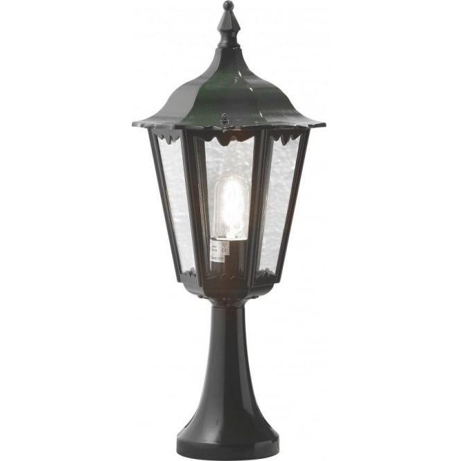 Parish Mini Pedestal Lantern: Konstsmide Firenze Single Light Small Outdoor Pedestal