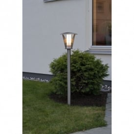 Livorno Single Light Low Energy Small Lamp Post