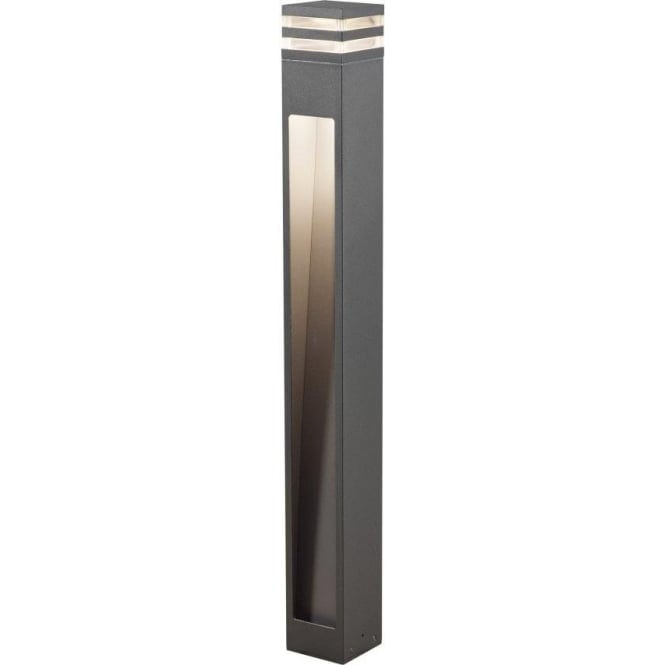 Bell Outdoor Post Lights: Konstsmide Massa Single Light LED Outdoor Post Light In
