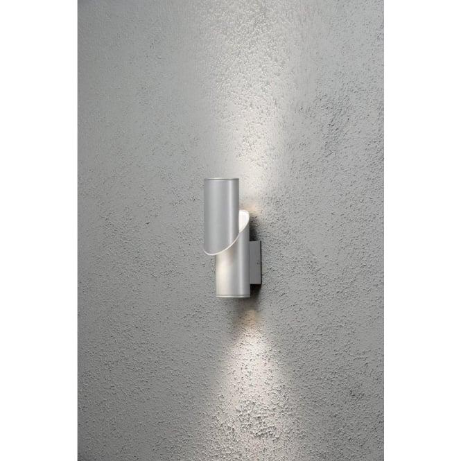 Konstsmide new imola led aluminium outdoor wall light lighting new imola led aluminium outdoor wall light aloadofball Image collections