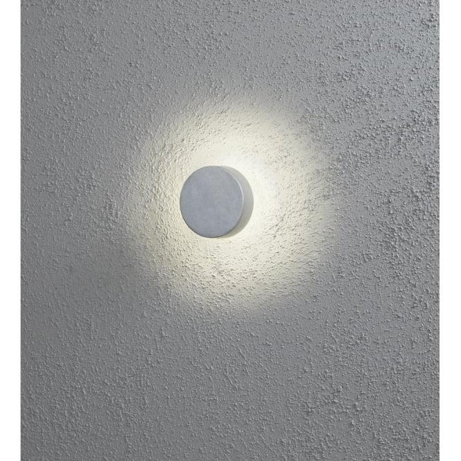 Konstsmide new pesaro led outdoor wall light in aluminium new pesaro led outdoor wall light in aluminium mozeypictures Image collections