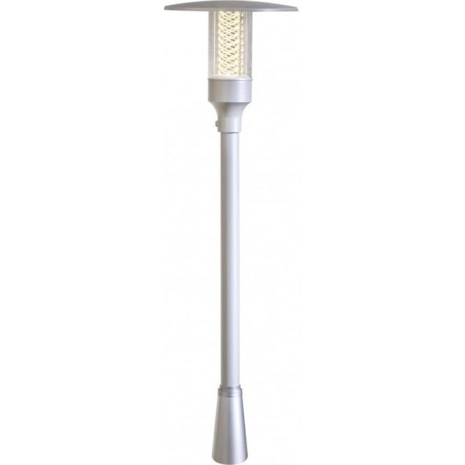 Street Light Diffuser: Konstsmide Nova Single Light Small Outdoor Post Light In