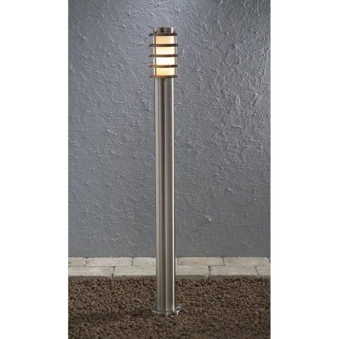 konstsmide trento single light low energy stainless steel outdoor