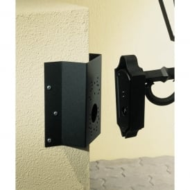 Konstsmide Universal Corner Bracket in Matt Black Finish