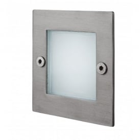 LED 9 Wall & Step Outdoor Light in Stainless Steel Finish