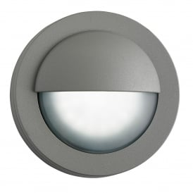 LED Outdoor Wall Fitting In Grey Finish