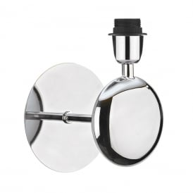 Lexington Single Light Wall Fitting In Polished Chrome Finish