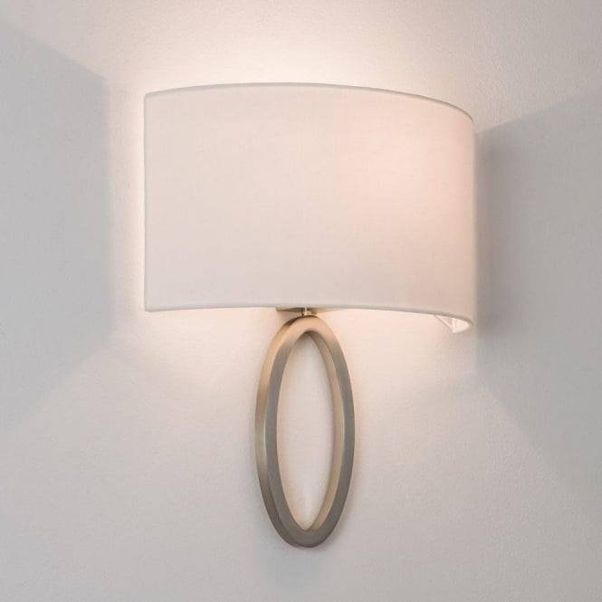 Astro Lighting Lima Single Light Wall Fitting Only In Matt Nickel Finish