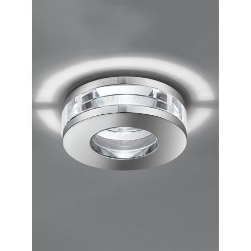 Franklite Low Voltage Recessed Crystal Bathroom Downlight Lighting Type From Castlegate Lights Uk