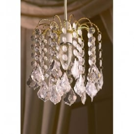 Acrylic Crystal Effect Ceiling Light Pendant Shade