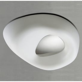 Huevo 4 Light Ceiling Fitting in White Finish (Outdoor)