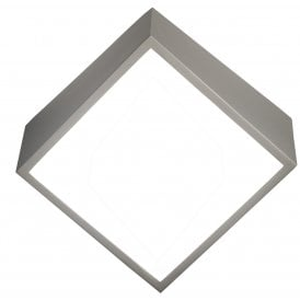 M5483 Mini 2 LED Wall Fitting in Silver Finish