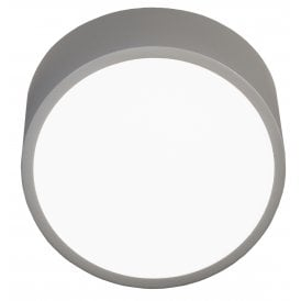 Mini 2 LED Round Wall Fitting in Silver Finish
