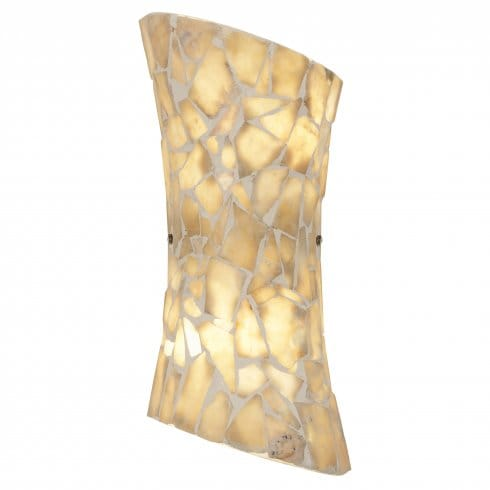 Endon Lighting Marconi 2 Light Wall Fitting With Natural