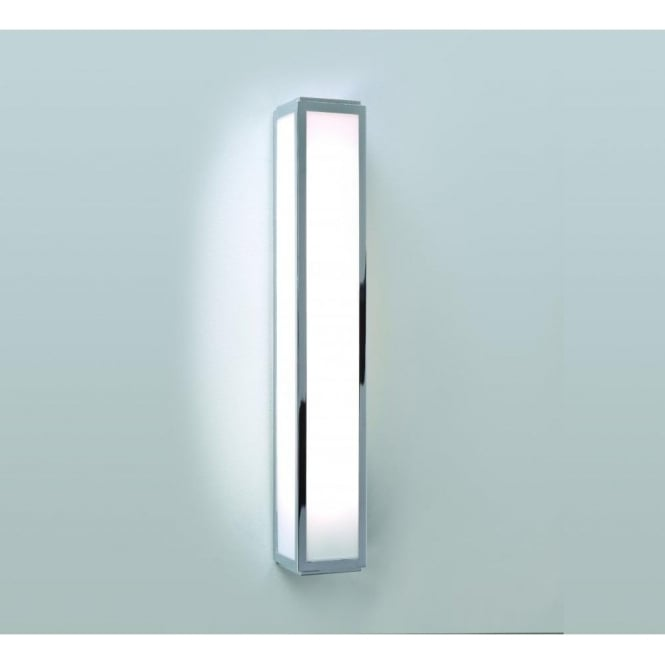 Astro Lighting Mashiko 500 Single Light Low Energy Bathroom Wall Fitting in Polished Chrome