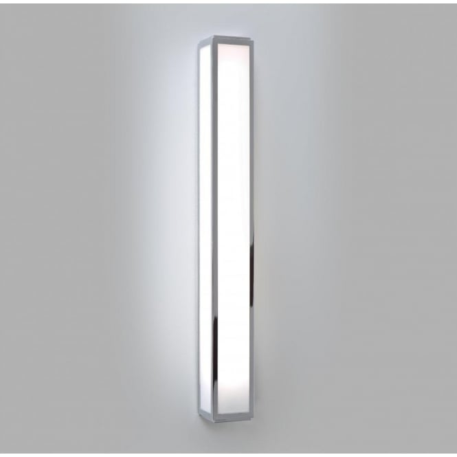 Astro Lighting Mashiko 600 Single Light Low Energy High Output Bathroom Wall Fitting in Polished Chrome