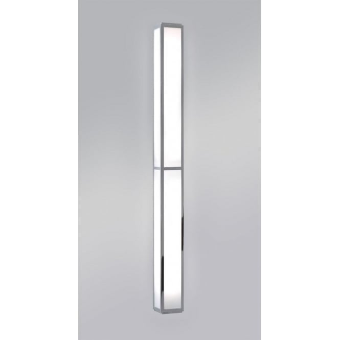 Astro Lighting Mashiko 900 Single Light Low Energy High Ouptut Bathroom Wall Fitting in Polished Chrome
