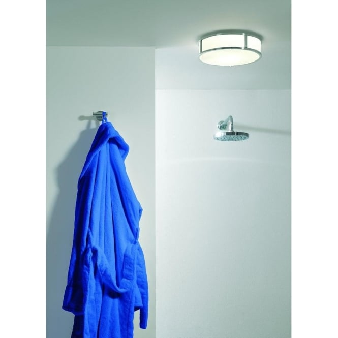 Astro Lighting Mashiko Single Light Bathroom Ceiling Fitting in Polished Chrome Finish