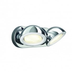 53122/11/10 Len 2 Light Spot Light in Polished Chrome Finish
