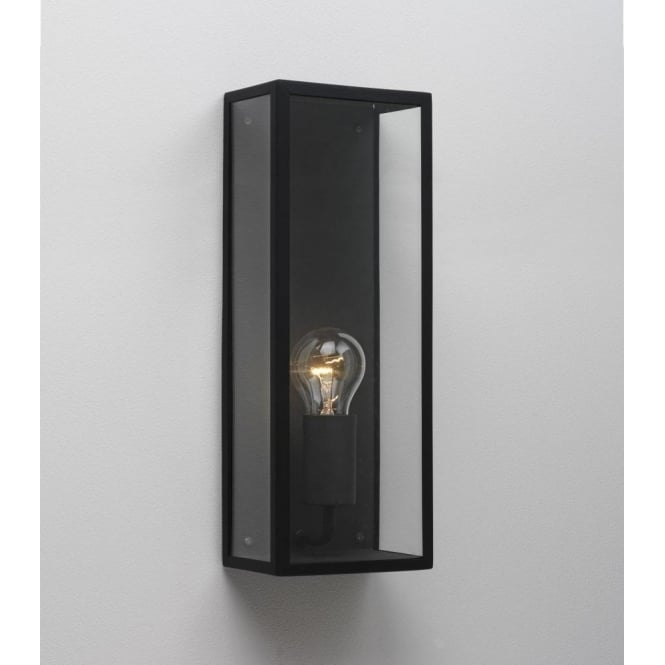 Astro Lighting Messina 130 Single Light Outdoor Wall Fitting in Black Finish