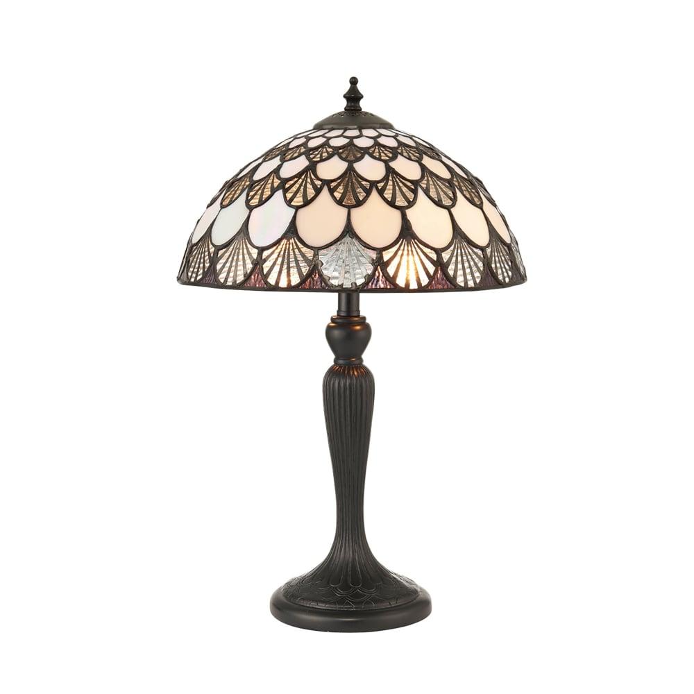 Interiors 1900 Missori 2 Light Small Table Lamp In Bronze
