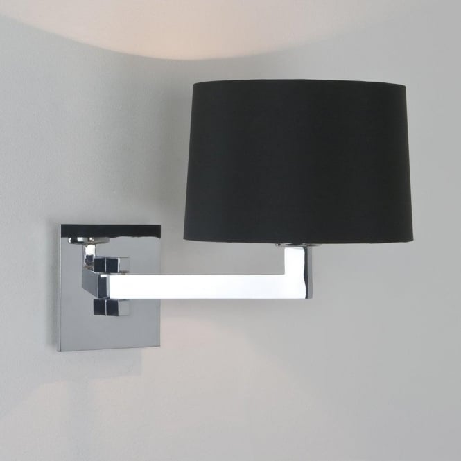 Astro Lighting Momo Single Light Swing-Arm Wall Fitting Only In Polished Chrome Finish