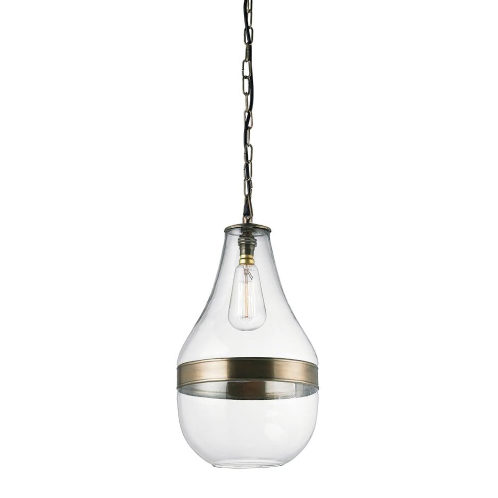 Endon Lighting Montoni Single Light Ceiling Pendant In