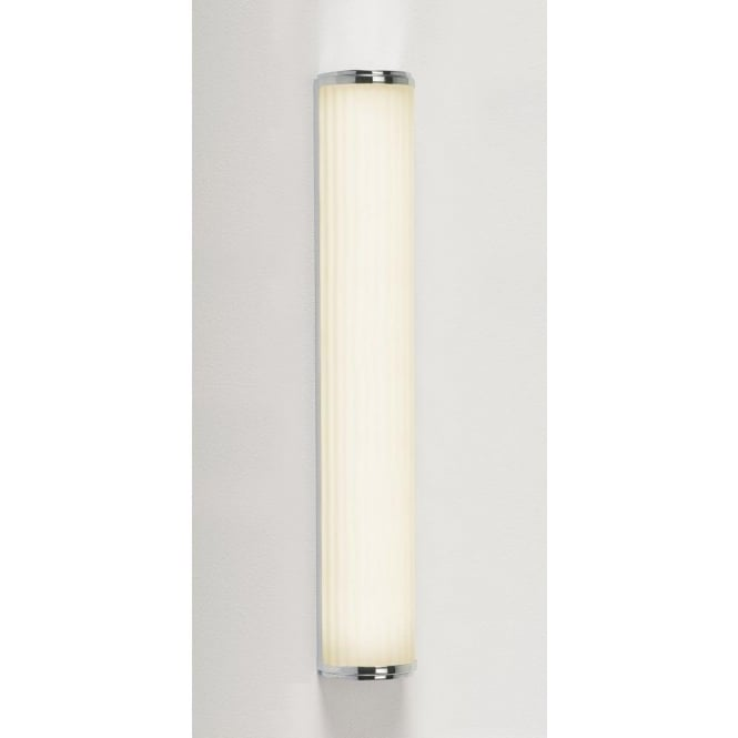 Astro Lighting Monza 600 Single Light Low Energy High Output Bathroom Wall Fitting in Polished Chrome