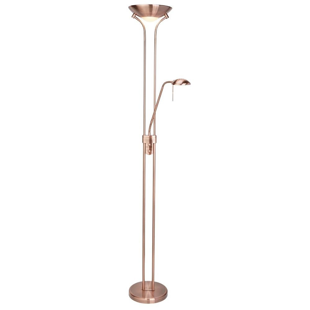 Searchlight lighting mother child floor lamp in copper finish searchlight lighting mother child floor lamp in copper finish lighting type from castlegate lights uk mozeypictures Images