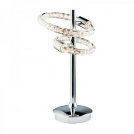 Nolte LED Table Lamp In Polished Chrome Finish
