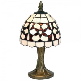 Amber Flower Single Light Table Lamp