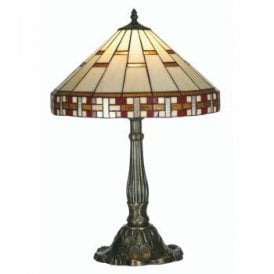 Aremisia Single Light Large Tiffany Table Lamp