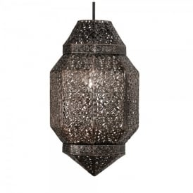 Brompton Ceiling Pendant Shade in Antique Copper Finish