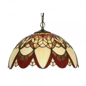 Tiffany Caius Single Light Ceiling Pendant