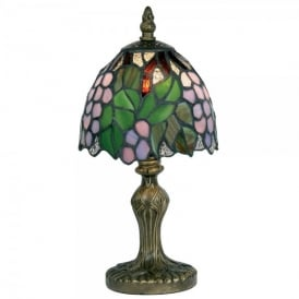 Tiffany Grape Single Light Table Lamp