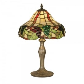 Tiffany Grapes II Single Light Table Lamp