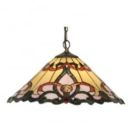 Tiffany Jayda Single Light Ceiling Pendant