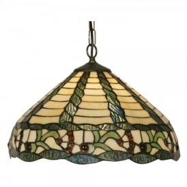 Tiffany Sawyer Single Light Ceiling Pendant