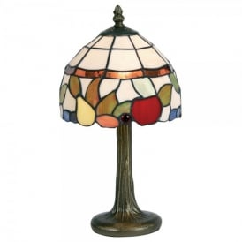 Tiffany Single Light Fruit Table Lamp