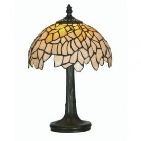 Titania Single Light Tiffany Table Lamp