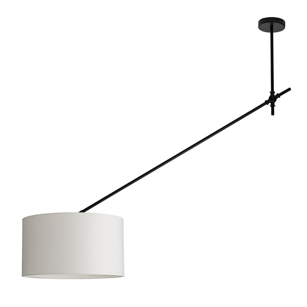 Dar Lighting Oran Single Light Over Hanging Ceiling