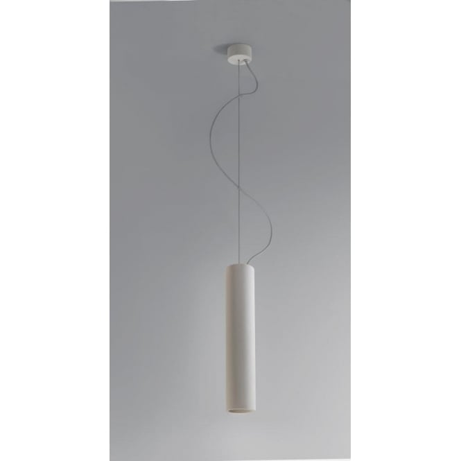 Astro Lighting Osca 400 Single Light Low Energy Ceramic Ceiling Pendant In White Finish